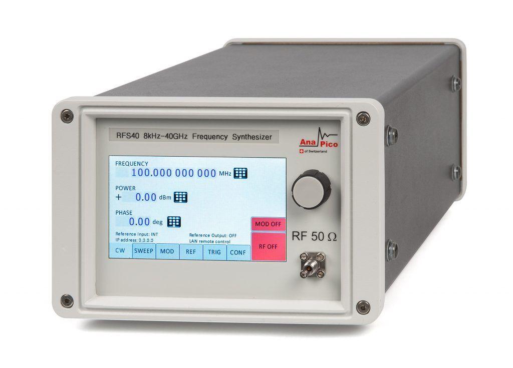 AnaPico Обновленный синтезатор до 40 ГГц RFS40, RFS40-X