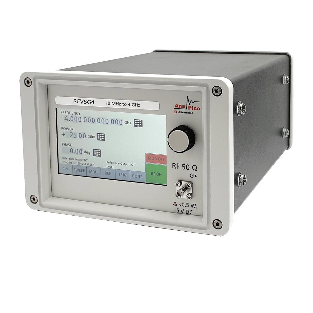 Векторный генератор RFVSG4 в портативном исполнении.
